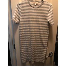 Michael Kors mini cotton striped dress